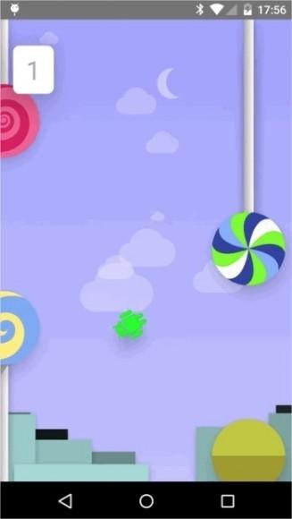 """Android Lollipop tiene como """"easter egg"""" una copia de Flappy Bird"""