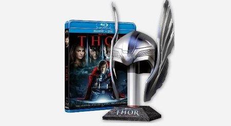 Edición de Thor en bluray con réplica del casco