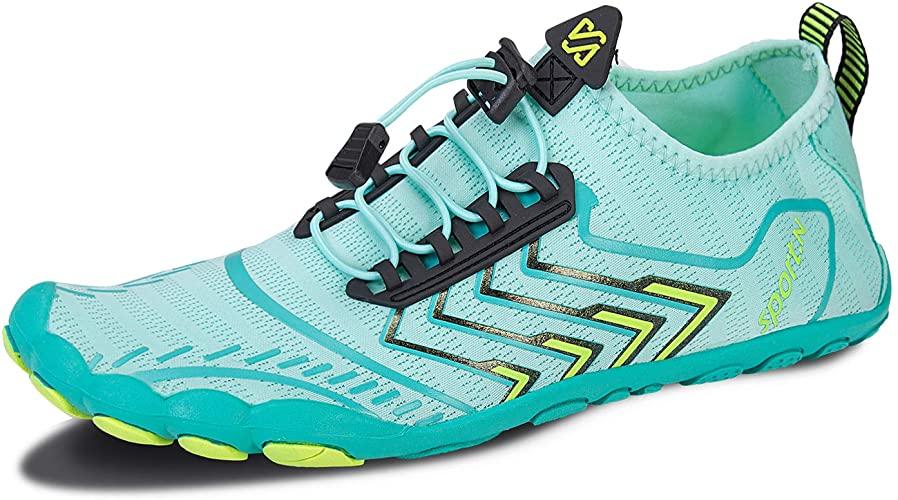Zapatos de agua descalzos para hombre y mujer, de secado rápido, para playa, natación, snorkel, surf