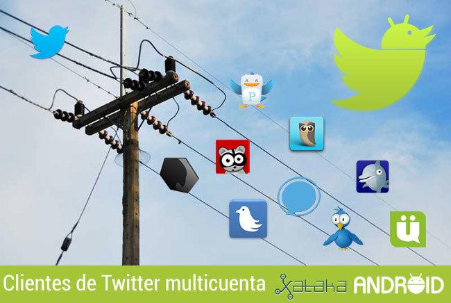 Clientes de Twitter multicuenta para Android