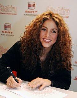 Shakira y su gira 'Fijación Oral' patrocinados por Seat