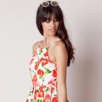 Vestido Print Frutas