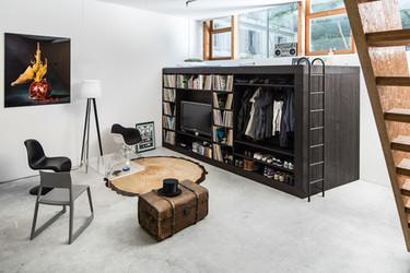 The Living Cube, para cuando sobra espacio y falta almacenaje