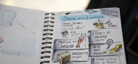 Te presentamos 'Dibujando charlas', el proyecto de Javier Alonso que debería cambiar el paradigma de tomar apuntes