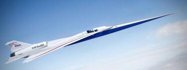 La NASA ha difundido un timelapse sobre la fabricación del avión supersónico silencioso X-59