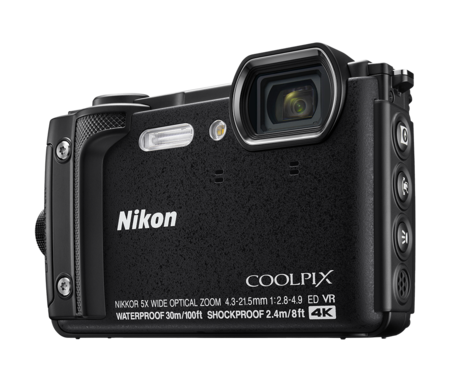 Nikon Coolpix W300 Black Hero Shot