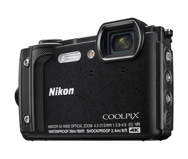 Nikon Coolpix W300 Black Hero Shot