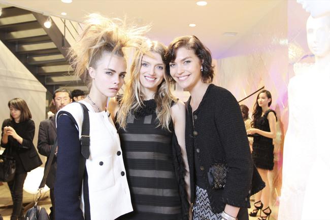 Foto de Las modelos de Chanel de fiesta (11/26)