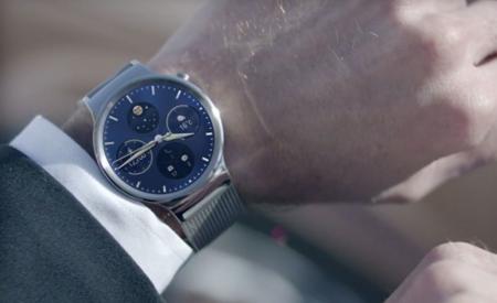 Huawei Watch, el diseño redondo y clásico triunfa
