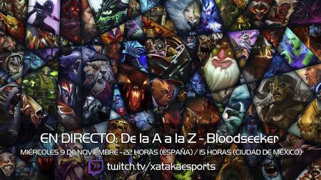 """Bloodseeker en directo con la sección """"Dota 2 de la A a la Z"""" a las 22:00 horas (las 15:00 en Ciudad de México) [Finalizado]"""