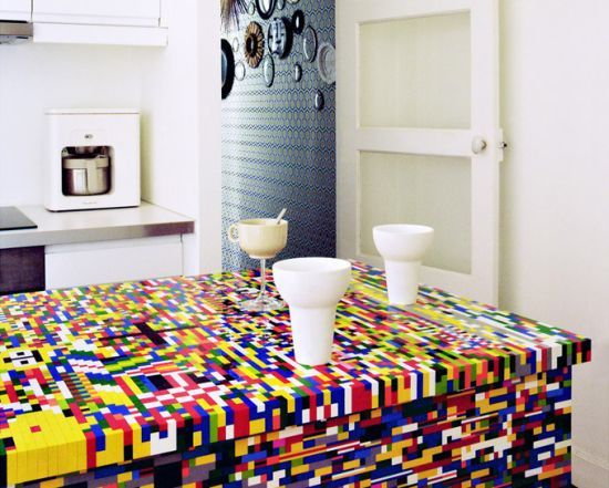 Foto de Una cocina de piezas de Lego (2/3)