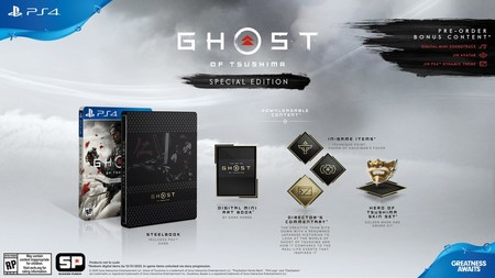 Ghost Of Tsushima Edicion Especial