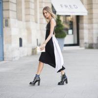 Duelo de Louis Vuitton: un vestido y dos maneras de combinarlo, ¿quién gana?