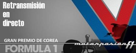 GP de Corea F1 2011: retransmisión LIVE