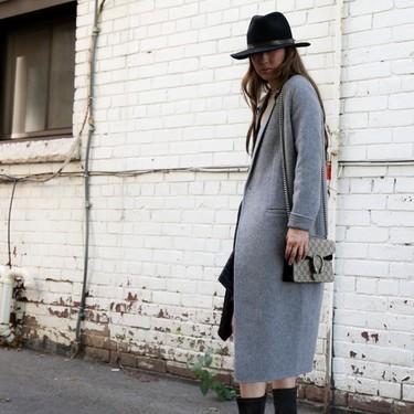 Un abrigo de paño es todo lo que necesitas: 13 looks de otoño con los que el street style nos recuerda su poder