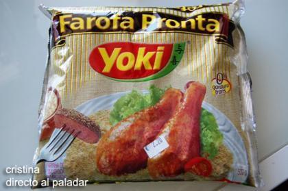 Farofa pronta Yoki