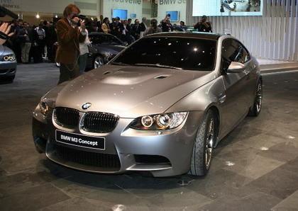 BMW M3 Concept en directo desde el Salón de Ginebra, un vistazo a los detalles