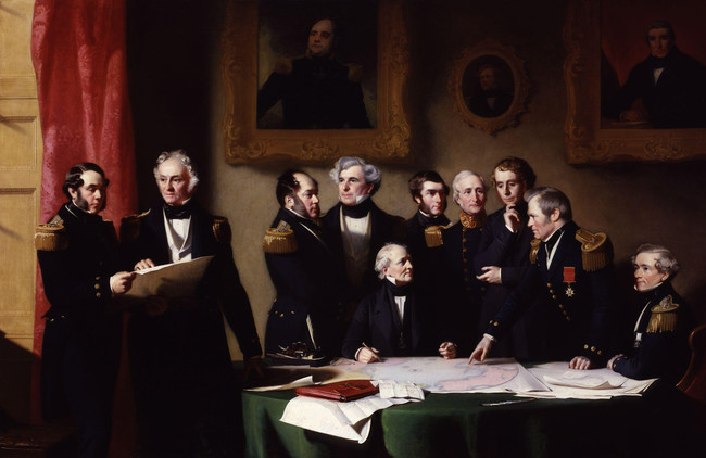 The Arctic Council Planning A Search For Sir John Franklin By Stephen Pearce