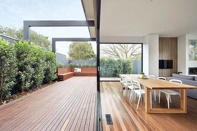 Elegante y preciosa, la renovación de una vivienda en Australia