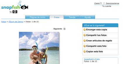 HP mejora snapfish con un almacenamiento ilimitado de fotografías