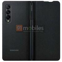 El Samsung Galaxy Z Fold 3 en nuevas fotos filtradas, ahora con una funda compatible con el S Pen