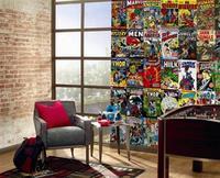 Una buena idea: un mural con tus comics