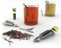 Cápsulas para transportar el té