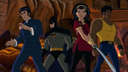 'Batman: Soul of the Dragon': un delirante exploitation setentero con superhéroes, kung-fu y dioses reptilianos a ritmo de funk