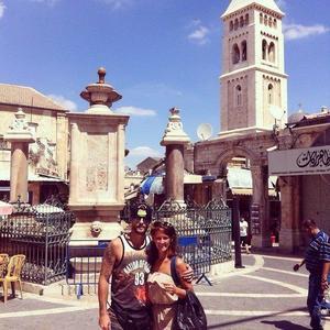 Menuda escapada romántica la de Ana Polvorosa y Luis Fernández a Israel