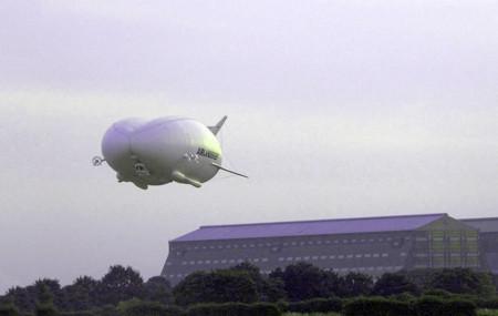 Airlander 10 es la aeronave más grande en funcionamiento, ha realizado su primer vuelo