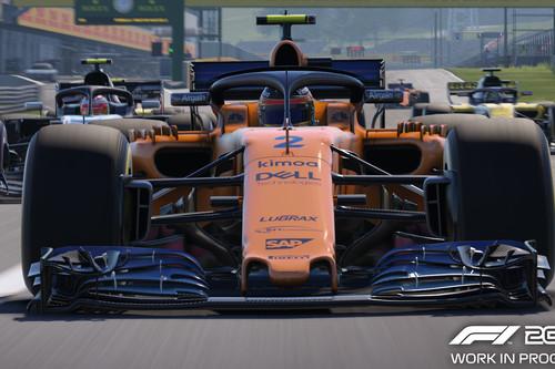 F1 2018, a prueba: Más de lo que viste el año pasado, pero con detalles que lo valen