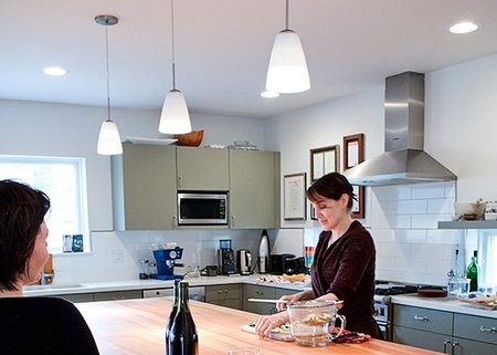 Tendencias en iluminaci n de cocinas - Iluminacion led en cocinas ...