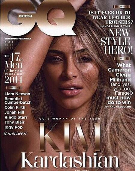 Y luego va Kim Kardashian y se despelota para GQ
