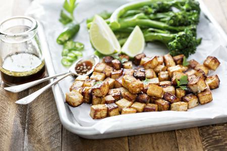 Tofu en Cubos