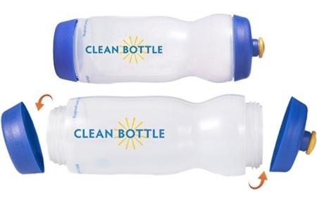 Clean Bottle: limpieza por arriba y por abajo