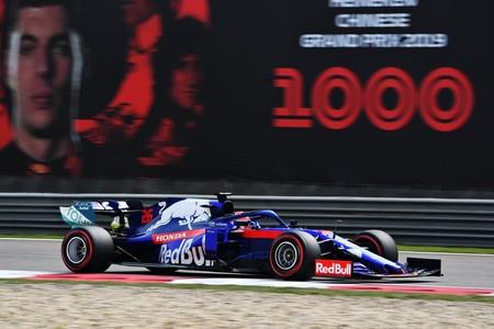 Daniil Kvyat China Formula1 2019