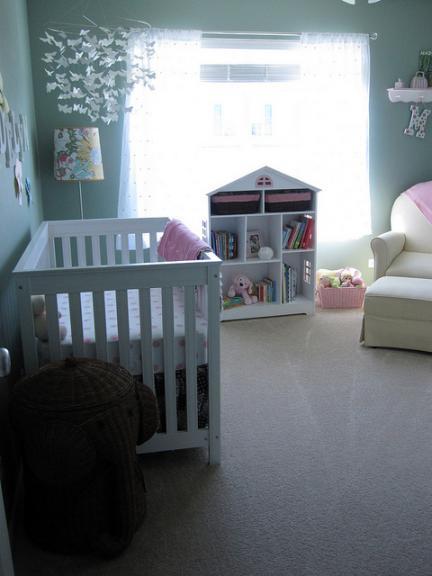 Especial decoración de la habitación del bebé en Bebés y más
