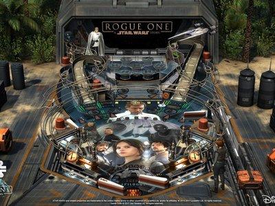 ¡No podía faltar el juego de pinball de Star Wars basado en Rogue One!