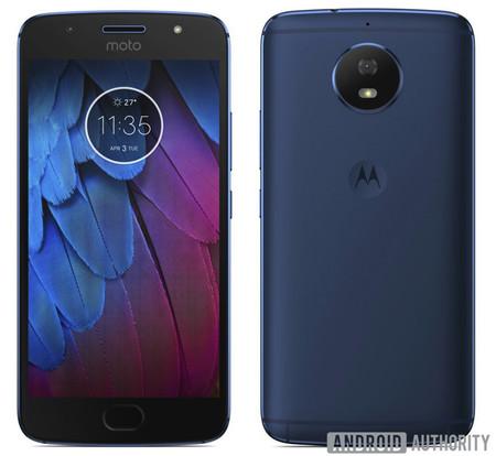 Moto G5S, azul
