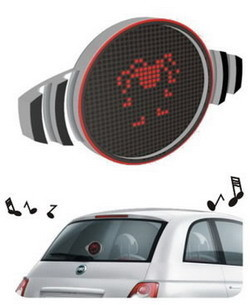 Fiat 500 Xpress con pantalla para los iconos
