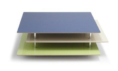 Etage, conjunto de mesas a distintas alturas
