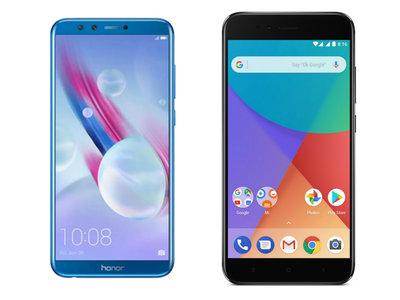 Honor 9 Lite frente al Xiaomi Mi A1: el combate por reinar en la gama media está reñido