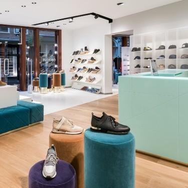 Espacios para trabajar: la tienda de Oblique Men en Utrecht en la que triunfa el verde menta
