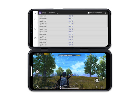Lg V50 Thinq 5g Smart Screen Juego Temp