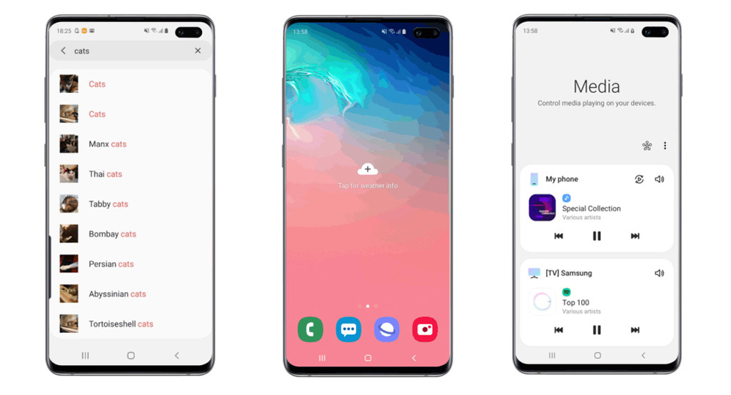 The Samsung Galaxy S10 receive multiple features of the Note 10 in the latest update: Auto-Hotspot, among them