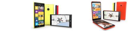 Nokia Lumia 1520 y Nokia Lumia 1320, comparativa