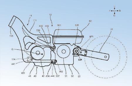 Yamaha Tmax Scooter Hibrida Patente 2020 1