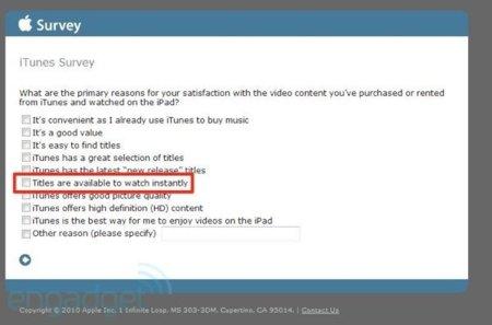 Engadget afirma tener indicios de un servicio de streaming de video vía iTunes