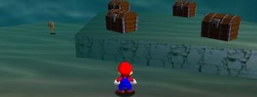 Super Mario 64: cómo conseguir la estrella Treasure in the Ocean Cave de Jolly Roger Bay