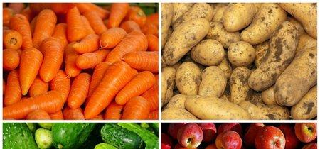 Zanahorias, patatas, pepinos y otras frutas y verduras que es mejor no pelar nunca